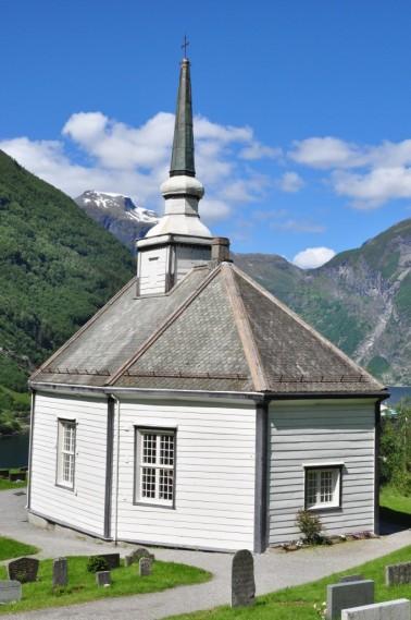 Geiranger - Octangonal church