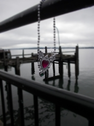 Precious gift from Michael that we left at the last pier visited by Titanic.