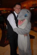 Alex dolphin hug