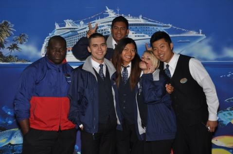 Embarkation team